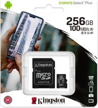256GB SD Kaart Kingston - Klasse 10