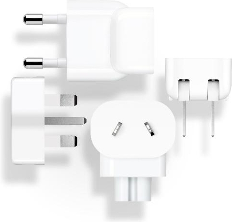 Adapter Reis Set voor Apple - Wit