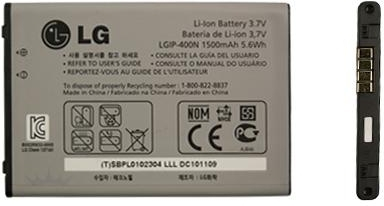 Batterij LG GW820 Expo origineel LGIP-400N
