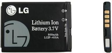 Batterij LG KU380 Origineel LGIP-410A-411A KE770
