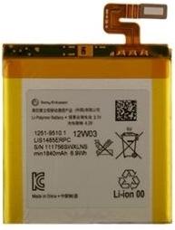 Batterij Sony Xperia Arco S LIS1489ERPC Origineel