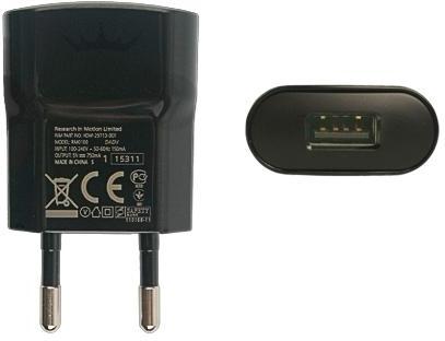 Adapter BlackBerry 0.55 Ampère - ORIGINEEL -