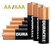 Duracell Simply Alkaline 4x AA & 4x AAA batterijen