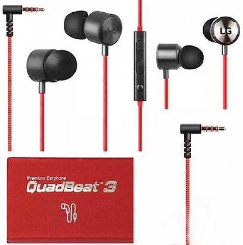 LG QuadBeat 3 Headset Rood