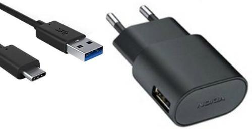 Oplader Nokia USB-C 2 Ampere - Origineel