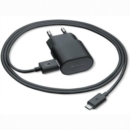 Oplader Nokia Micro-USB 1.3 Ampere - Origineel - Zwart