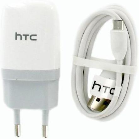 HTC oplader micro USB - ORIGINEEL - WIT