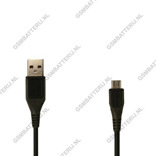 Nokia Datakabel Micro-USB 100 CM - Origineel - Zwart