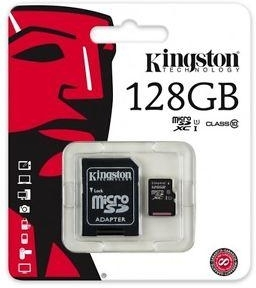 SD Kaart 128GB Kingston - 10