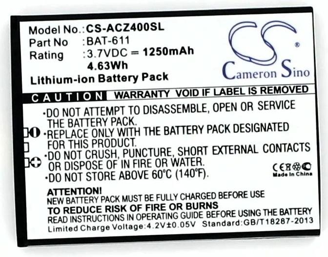 Acer Liquid Z4 Batterij Replacement BAT-611