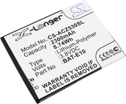 Acer Liquid Z530 Batterij Replacement BAT-E10