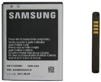 Samsung Galaxy SII Accu Li-Ion 1650 mAh EB-F1A2GBUC