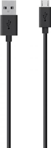 Belkin Mixit Micro-USB kabel - Zwart - 2 Meter