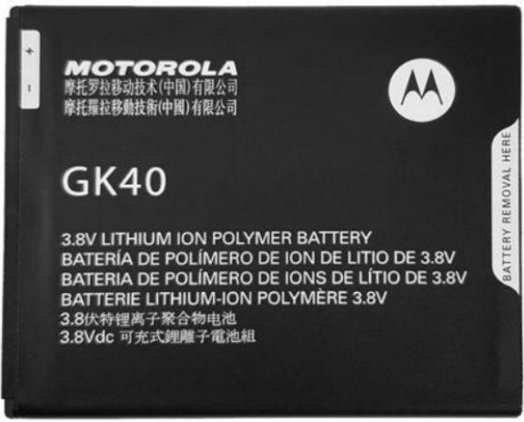 Motorola Moto E5 Cruise Batterij origineel GK40