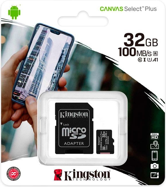 SD Kaart 32GB Kingston - 10