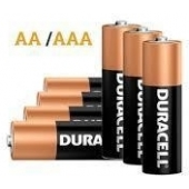 Duracell Plus Power 4x AA & 4x AAA batterijen