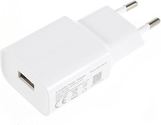 Xiaomi MDY-08-EO Power Adapter - USB Oplader - Wit